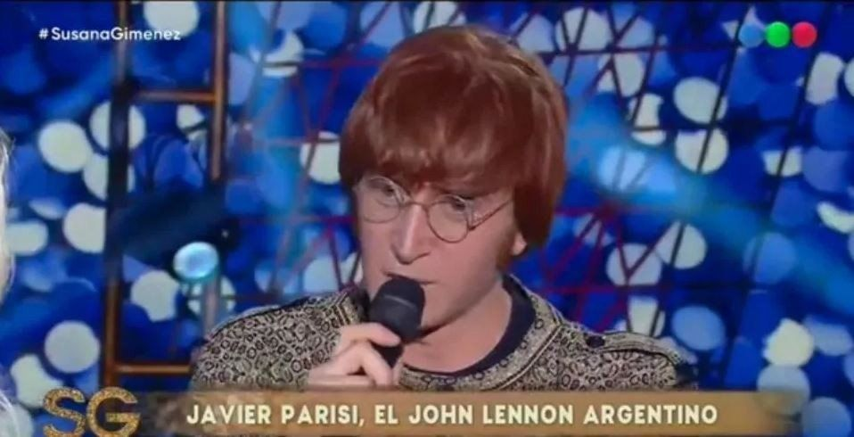 El Jhon Lennon argentino estuvo con Susana Giménez