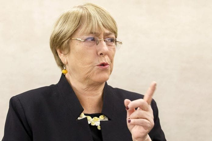Bachelet denunció asesinatos de manifestantes en protestas contra Daniel Ortega