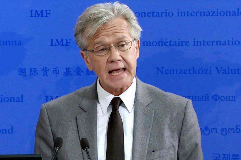 El FMI confirmó que hablará con Hernán Lacunza