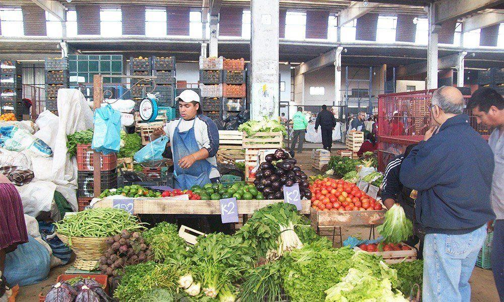 Mercofrut: por la poca demanda los precios sufrieron una baja