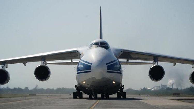 Uno de los aviones más grandes del mundo estuvo nuevamente en Tucumán