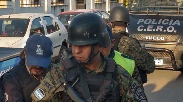 El Grupo CERO custodió la llegada de Luis Piccinetti a Tucumán