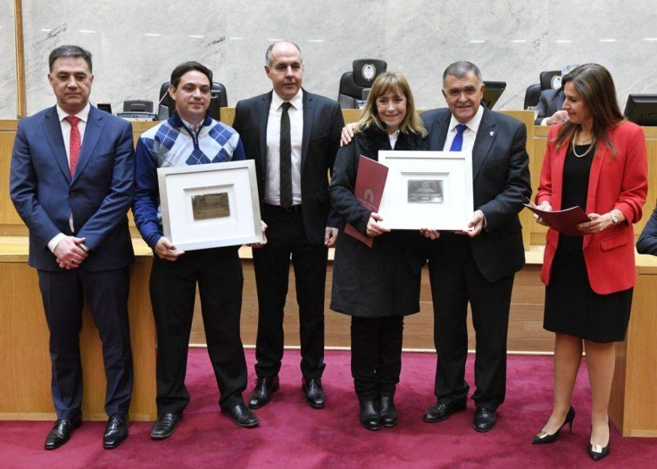 La Legislatura reconoció al profesor tucumano que personificó a San Martín