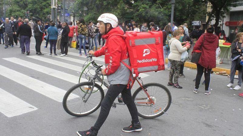 Por primera vez una app de delivery tiene delegados sindicales