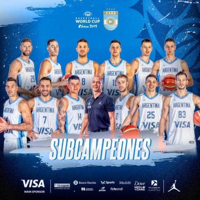 ¡Muy orgulloso del equipo argentino, gran medalla de plata!
