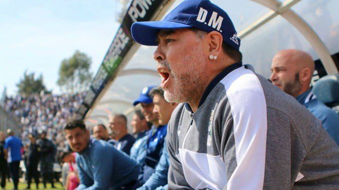 Superliga: Debut con derrota para Diego Maradona en Gimnasia