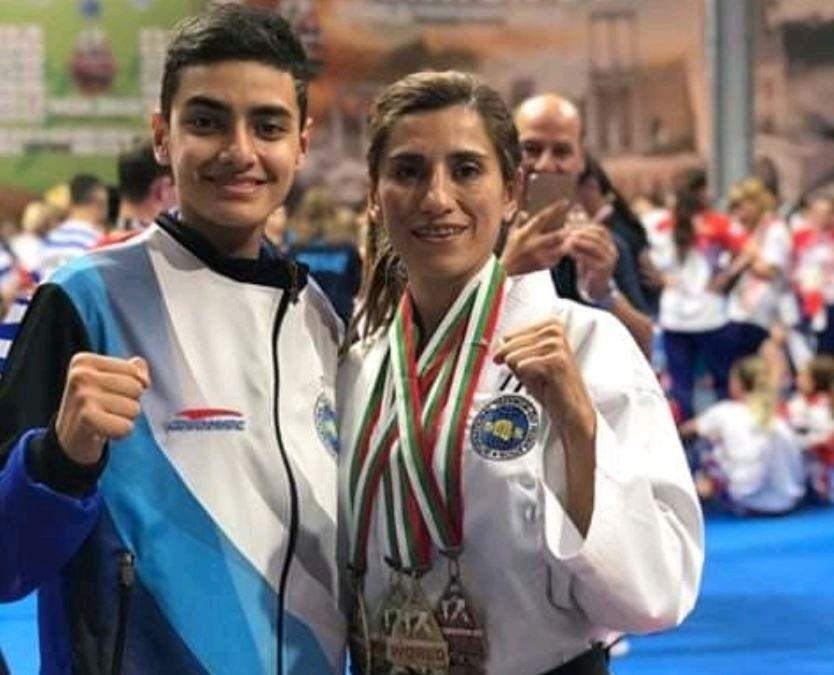 La tucumana Valeria Ale sigue cosechando medallas en Taekwondo