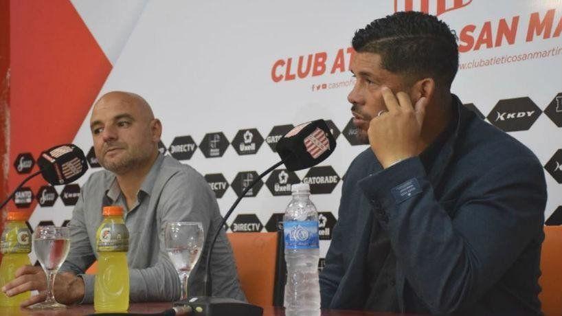 """Sergio Gómez: """"Trataremos de llevar los tres puntos a Tucumán"""""""