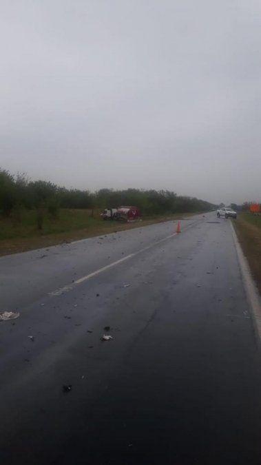 Un panadero de Simoca murió luego de un choque frontal en la ruta 157