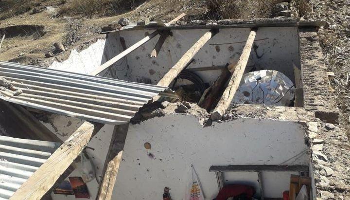 Jujuy: daños en escuela de El Durazno, Tilcara tras el viento
