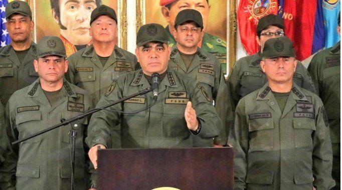 Tras la activación del TIAR, el ministro de Defensa de Venezuela dijo que la Fuerza Armada defenderá a su país