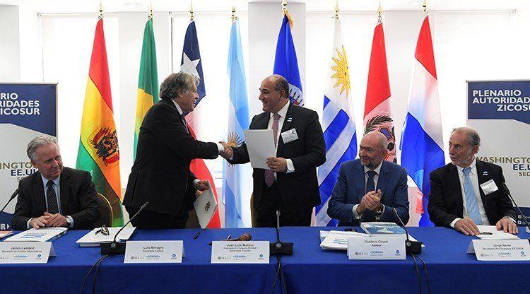 Destacan el acuerdo entre la ZICOSUR y la OEA como impulsor de la integración