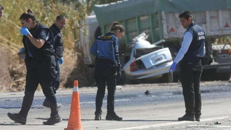 Cinco personas fallecieron tras un accidente en la ruta 40 a la altura de Jocolí