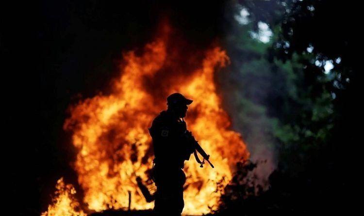 Bolsonaro prorrogó la presencia de las Fuerzas Armadas en el Amazonas