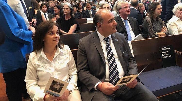 Manzur participó del homenaje a César Pelli en New Haven