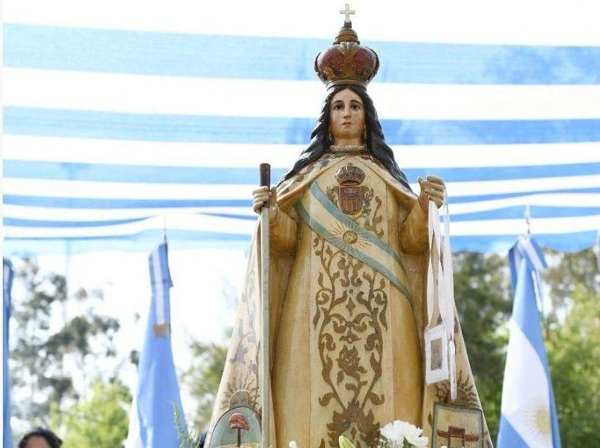 Villa Belgrano conmemoró la Batalla de Tucumán y a la Virgen de la Merced