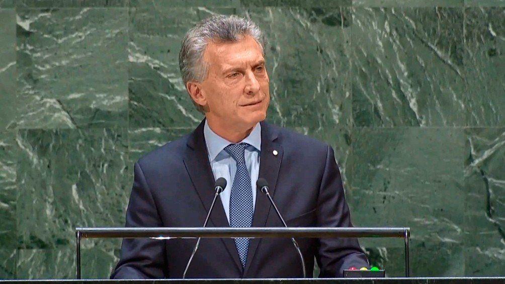 El presidente Macri defendió el acuerdo Mercosur-UE en la ONU