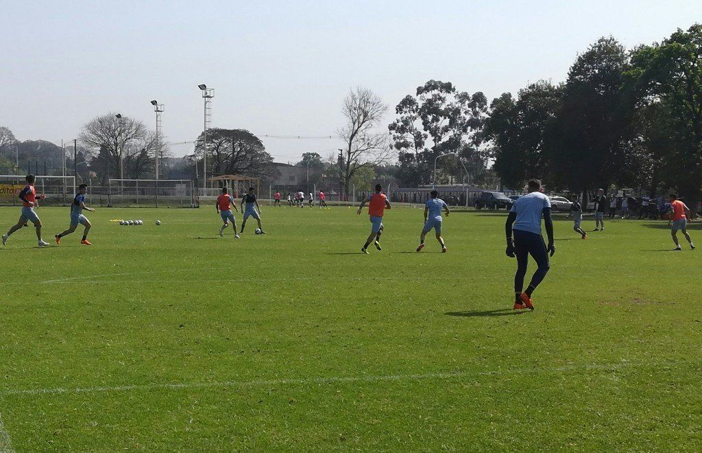 Gustavo Toledo volvió a las canchas y debutaría en Atlético