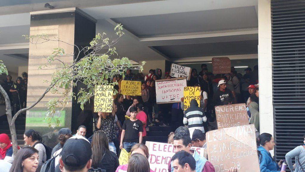 Disturbios en la Gerencia de Empleo: UATRE denuncia irregularidades en las elecciones