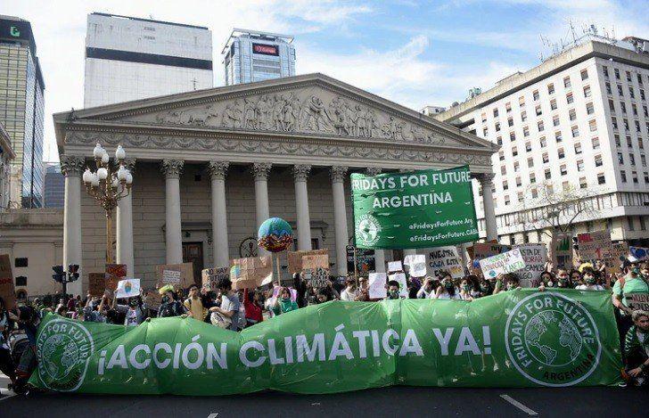 Se realizó la marcha mundial por el cambio climático