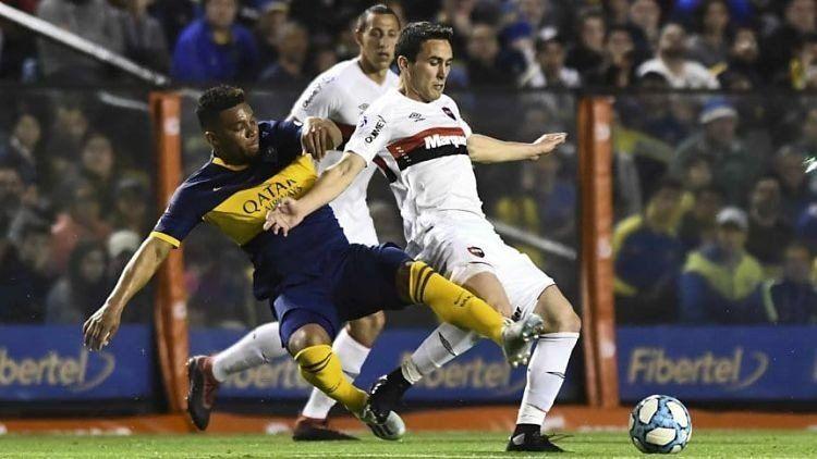 Superliga: Boca y Newells empataron 1 a 1 en La Bombonera