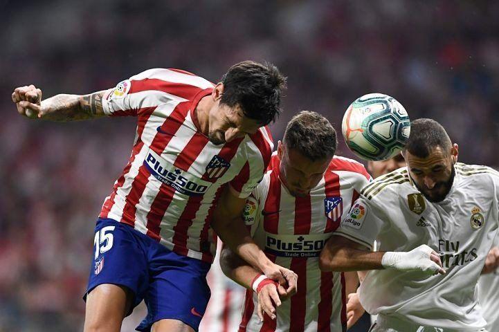 Atlético y Real no se sacaron ventaja en el derbi de Madrid
