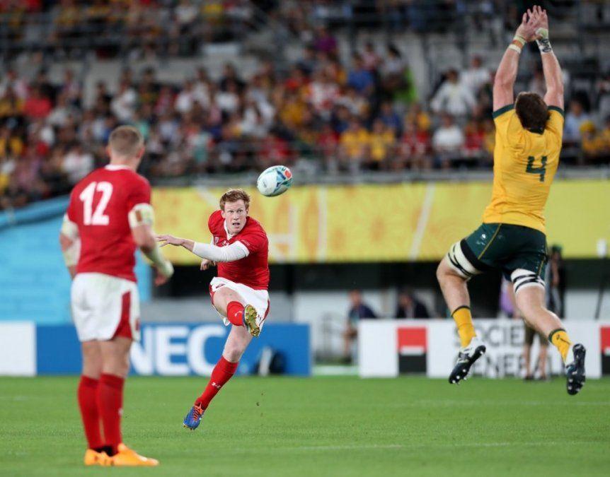 Gales logró una sufrida victoria ante Australia
