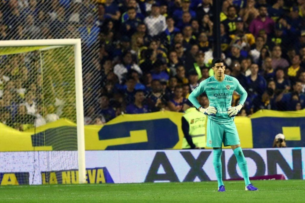 Récord: después de 1129 minutos, a Esteban Andrada le hicieron un gol