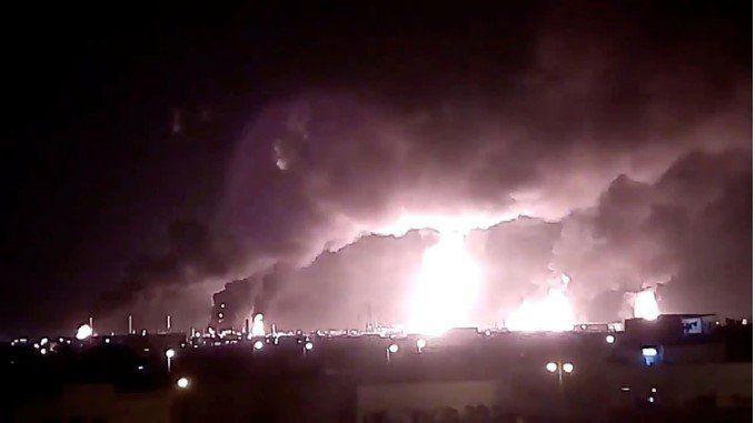 Revelaron imágenes inéditas del ataque contra petroleras de Arabia Saudita