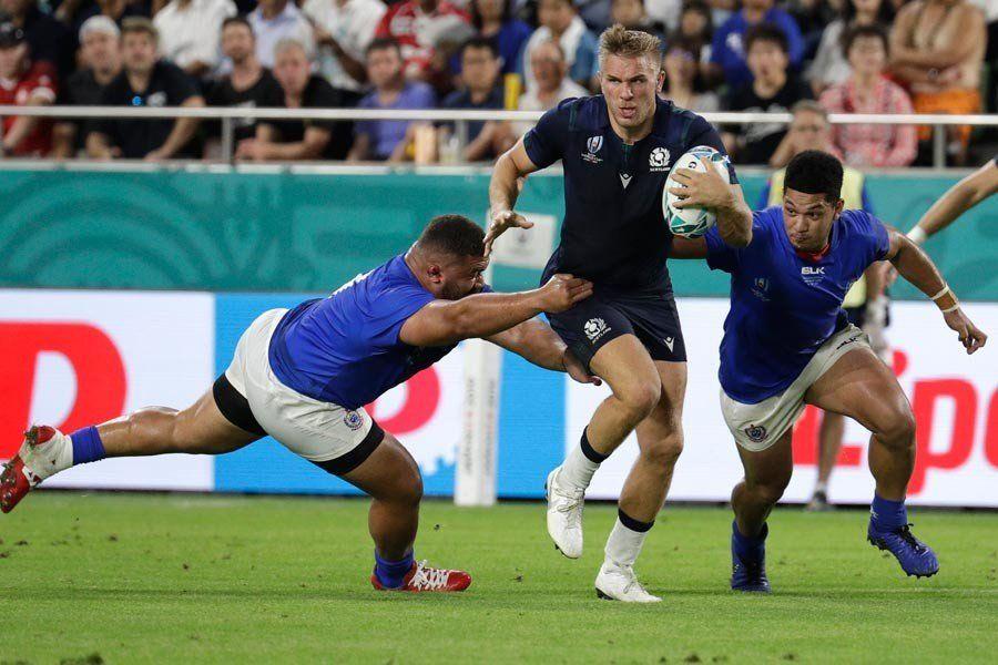 Escocia recupera la confianza con un contundente triunfo sobre Samoa