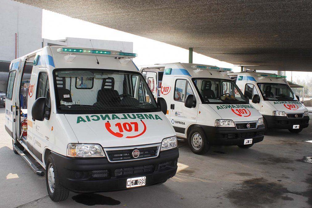 Ambulancias del Sistema Provincial de salud