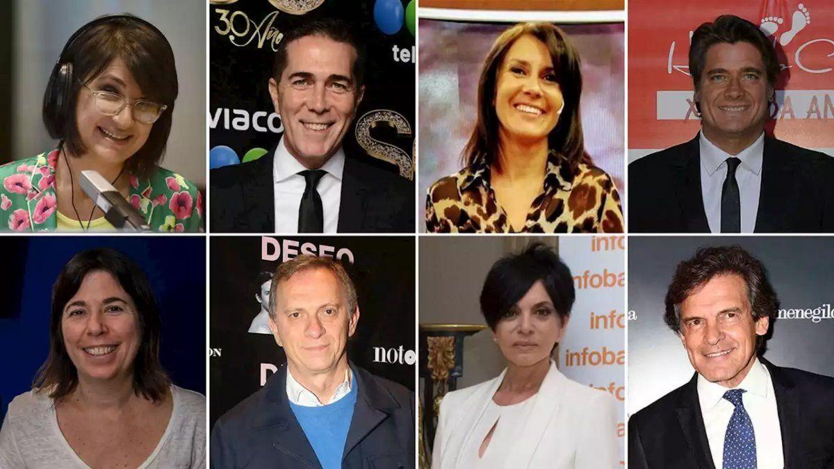 El perfil de los ocho periodistas que moderarán los debates presidenciales