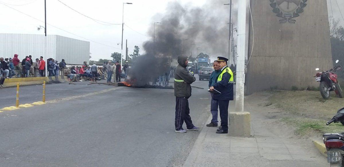 Los trabajadores del San Juan continúan con la protesta.