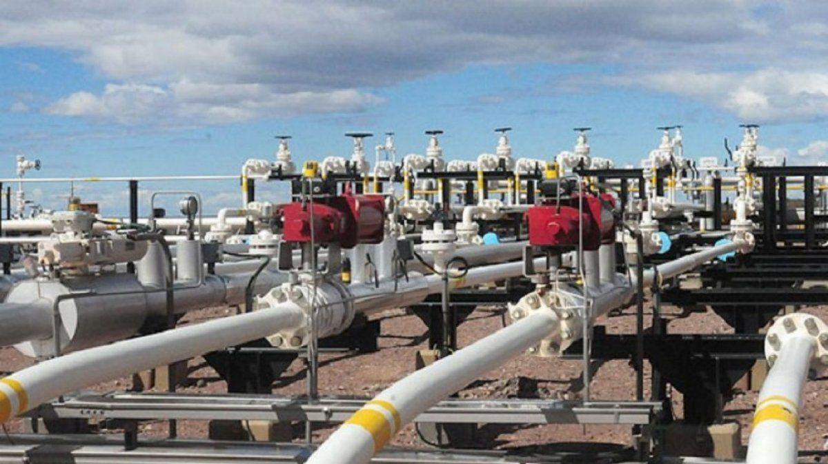 La producción de gas aumentó un 7,9% en agosto