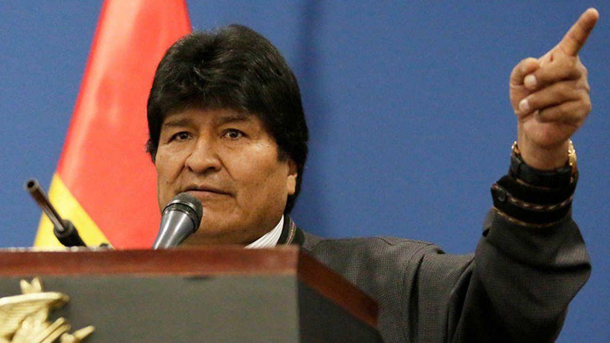 Evo Morales sería reelecto en primera vuelta