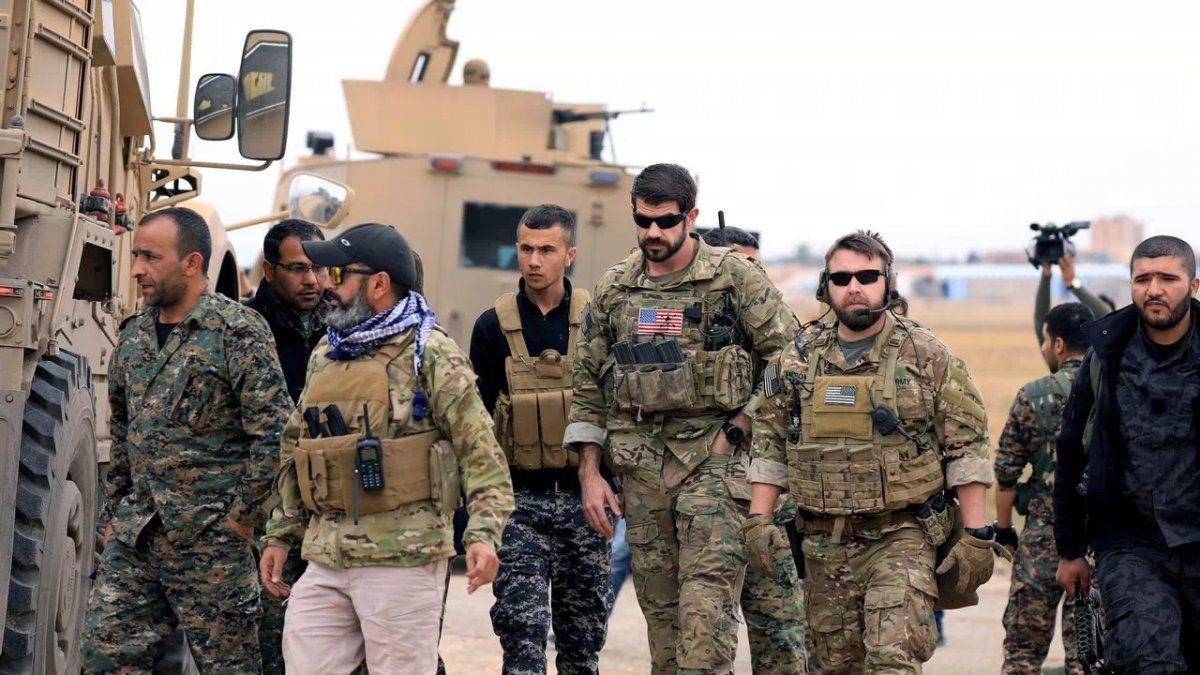 Los 2.200 soldados estadounidenses abandonanSiria