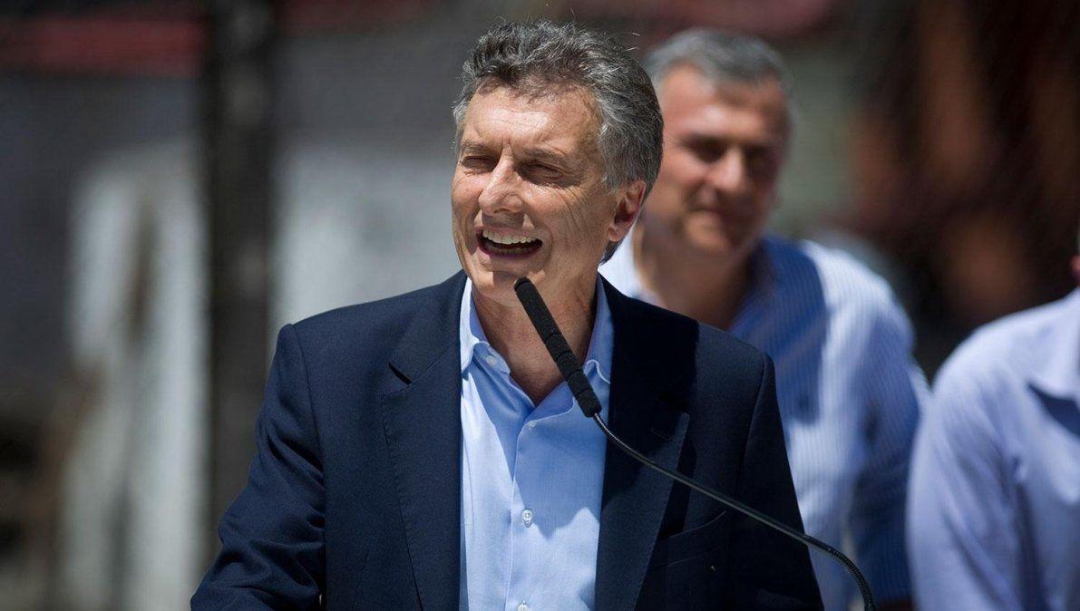 Macri vista la provincia en modo campaña electoral.