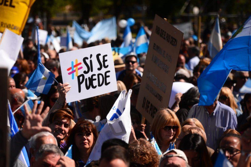 La marcha del Si se puede llega este lunes a Tucumán.