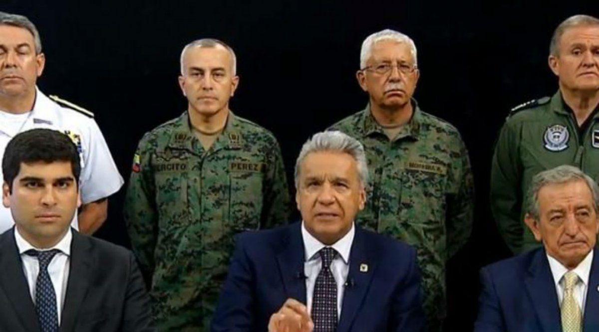 El presidente ecuatoriano