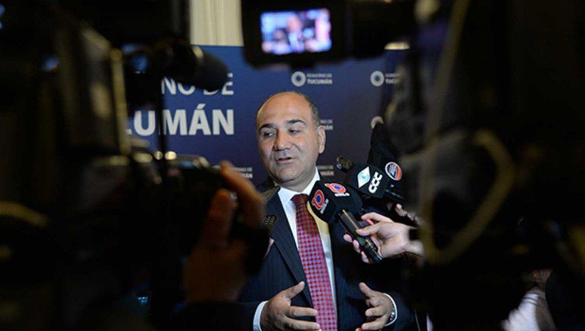 Manzur apuesta un cambio de gobierno nacional para enderezar el rumbo del país.