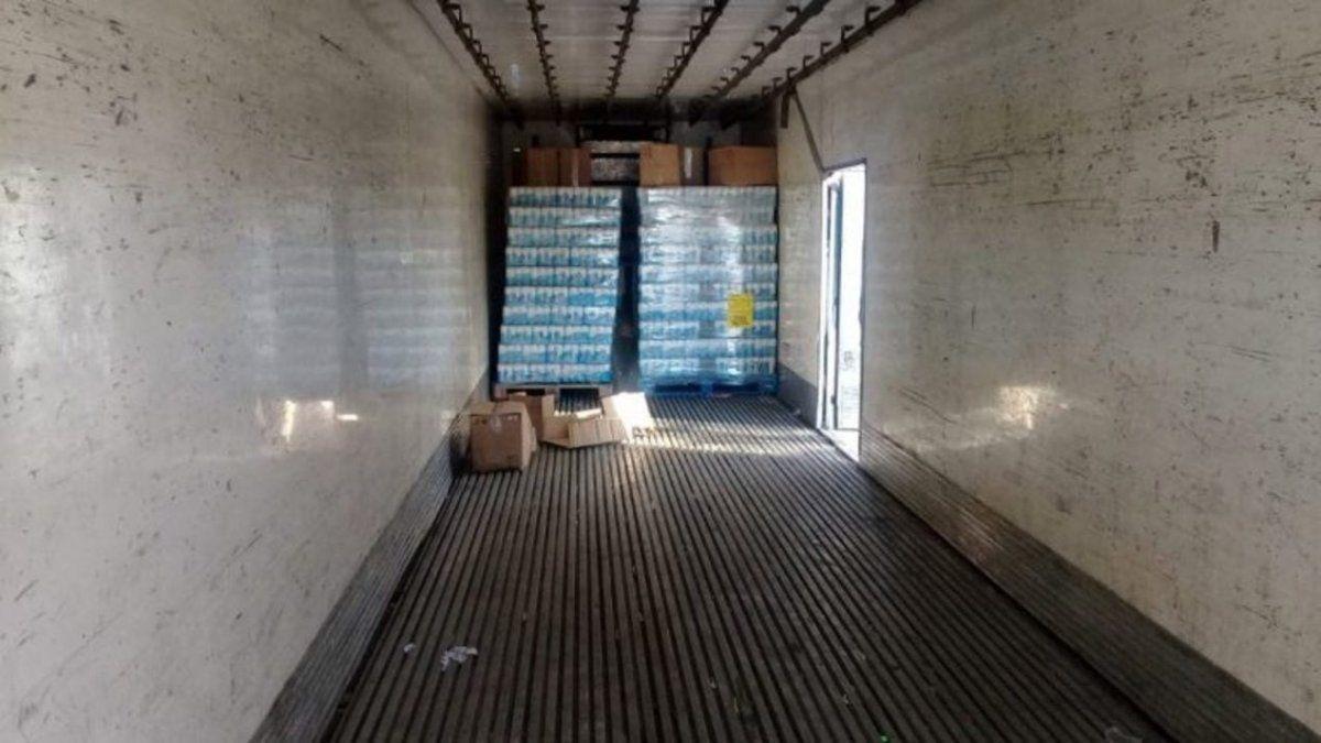 Camionero inventó un asalto para hacer desaparecer 57 mil litros de cerveza