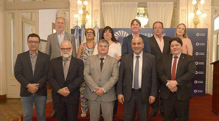 Manzur recibió en Casa de Gobierno a empresarios de la Asociación de Comercio e Industria de Campo Grande (Acicg)