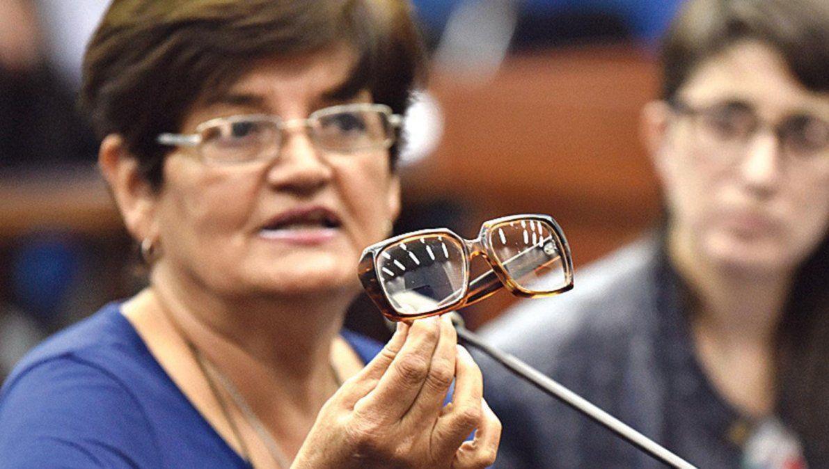 Mostraron los lentes que Ledo dejó en el campamento
