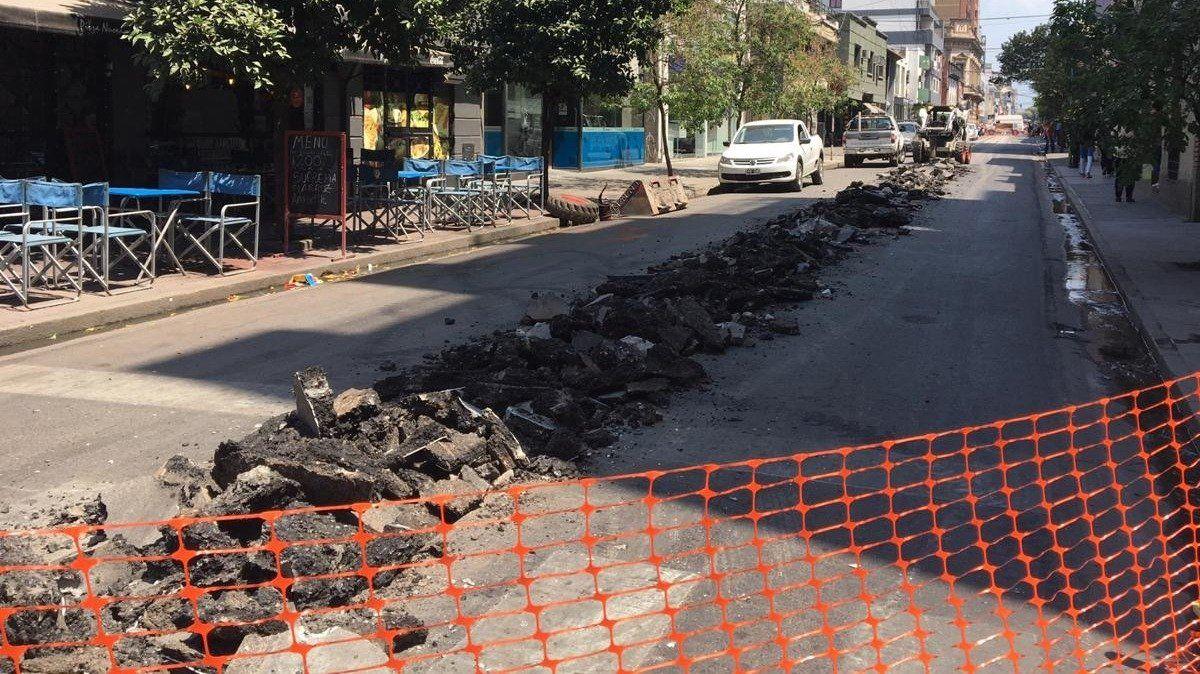 Durante 15 días estará cortado el tránsito en calle San Juan al 400