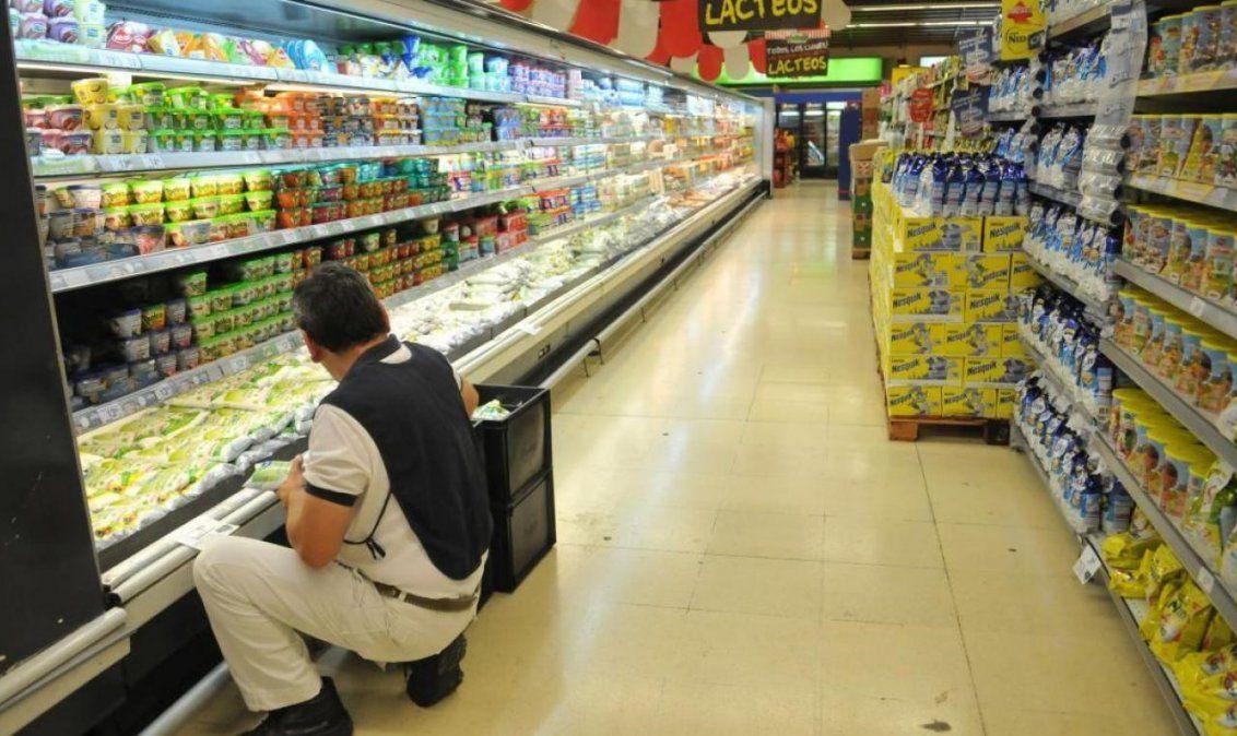No cede el aumento de precios en supermercados.