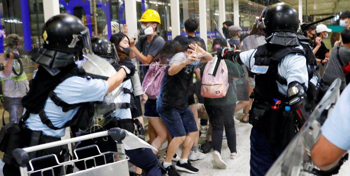 Nuevos enfrentamientos en la decimonovena semana de protestas