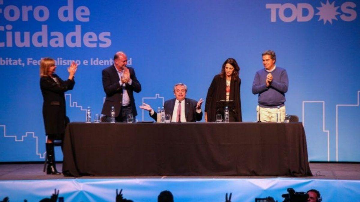 Fernández volvió a valorar la importancia del federalismo