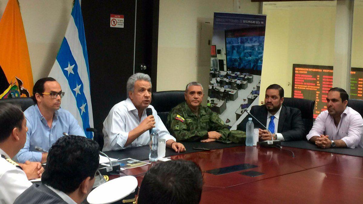 Lenín Moreno cambió la cúpula militar tras la represión a las protestas
