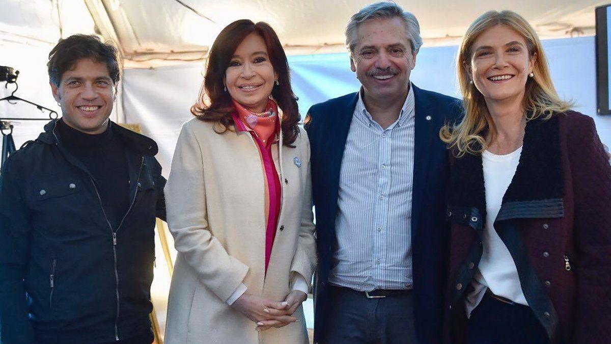 Fernández-Fernández encabezan los actos en La Pampa