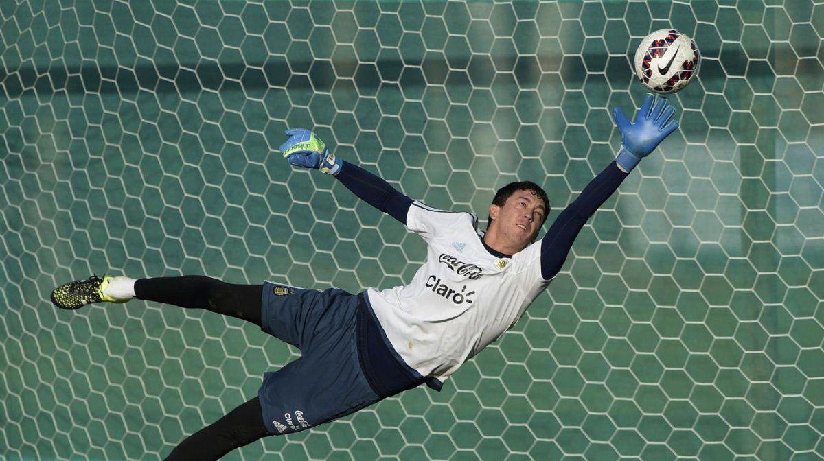 Agustín Marchesín fue titular en la selección ante Alemania
